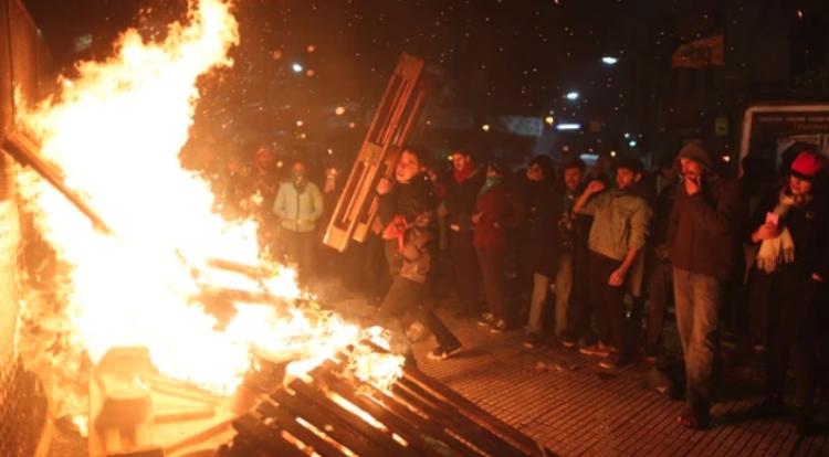 Argentina disturbios
