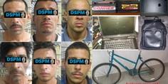 Relacionada 6 detenidos por robo