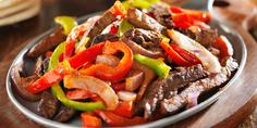 Relacionada mexican food beef fajitas and bell peppers1