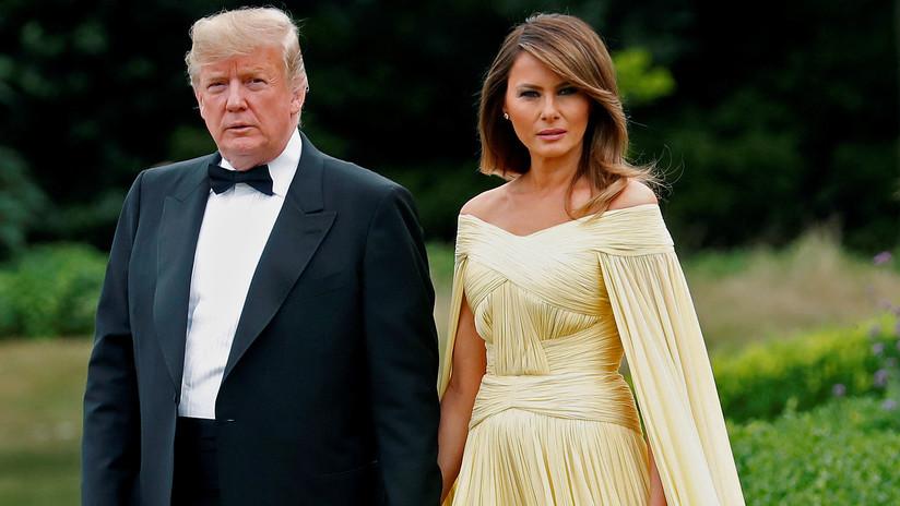 Cambió Trump muebles que eligió Melania para la Casa Blanca; revelan
