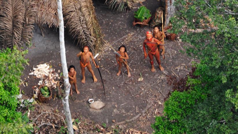 Tribu escondida es captada por drones en selva brasileña