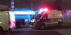 Relacionada patrulla policia noche en eject