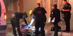 Relacionada ambulancia con ejecutado de noche