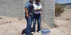 Relacionada entrega proteccio n civil agua embotellada en los kilo metros 1