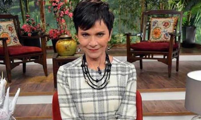 La conductora de televisión, Pati Chapoy no se va de Ventaneando