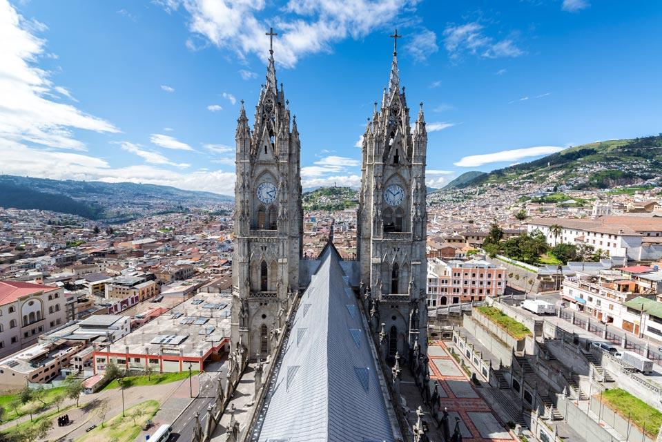 Quito kirkko