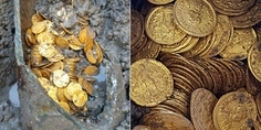 Relacionada monedas de oro