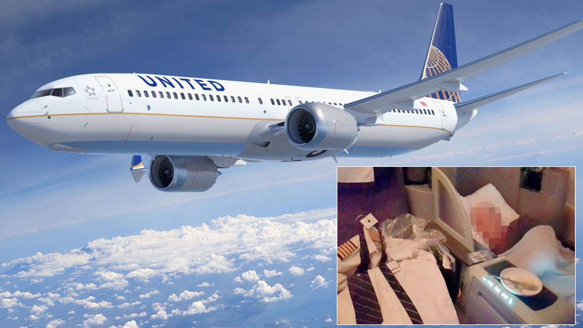 United duerme piloto
