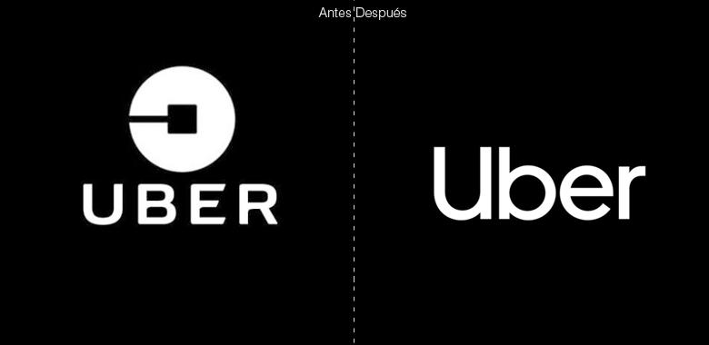 Nuevo antes despues logo uber elpoderdelasideas