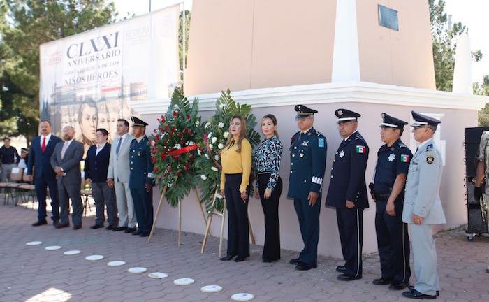Conmemoran aniversario de la gesta heroica de los nin os he roes 1