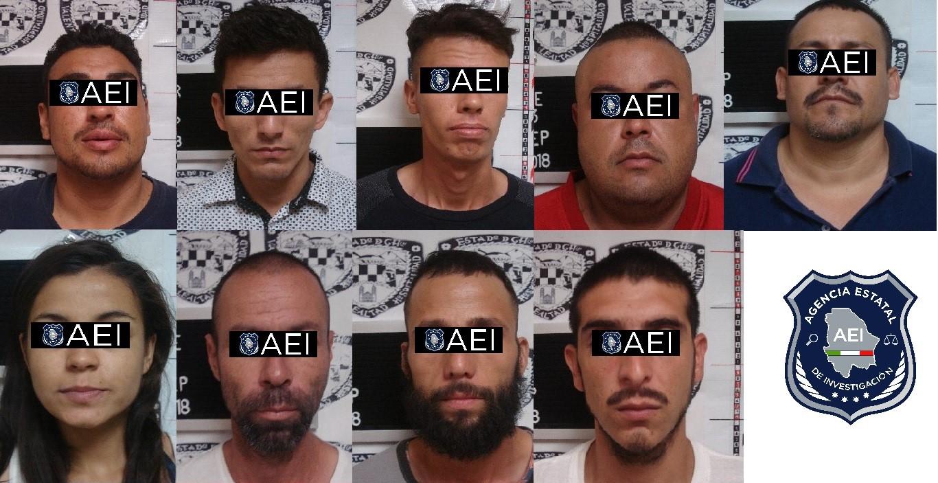 Detenidos por narcomenudeo