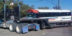 Relacionada choque trailer y camion