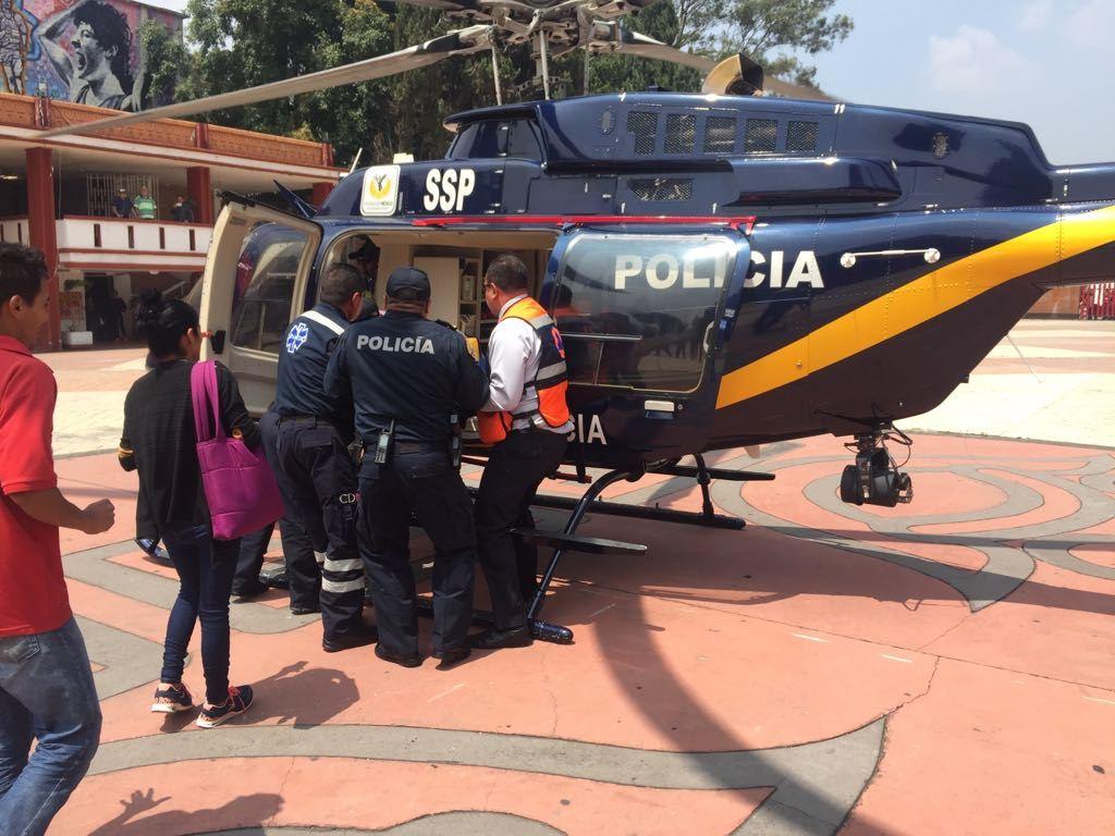 Helicoptero xochimilco