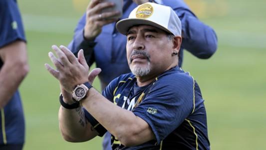 Hace Maradona un llamado para ayudar a la gente en Sinaloa
