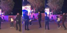 Relacionada policia rocia gas pimienta patea adolescente