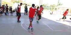 Relacionada realizan visorias de fu tbol en centro comunitario felipe a ngeles