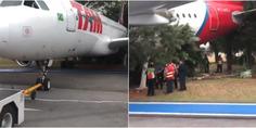 Relacionada avion choca contra arboles