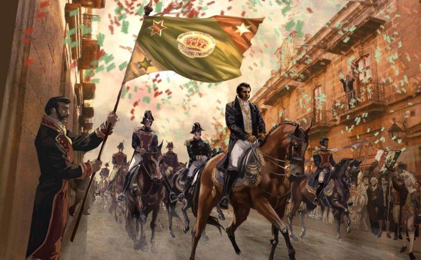 Independencia mexico ejercito trigarante 825x510