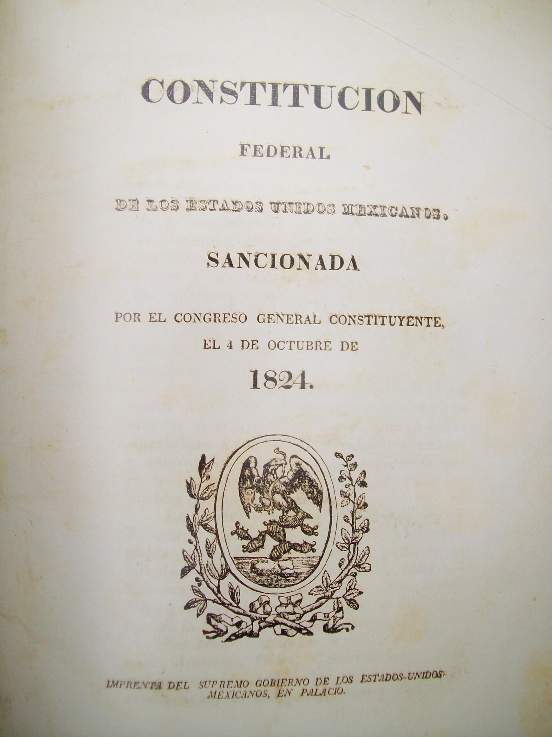 Constituci n de 1824