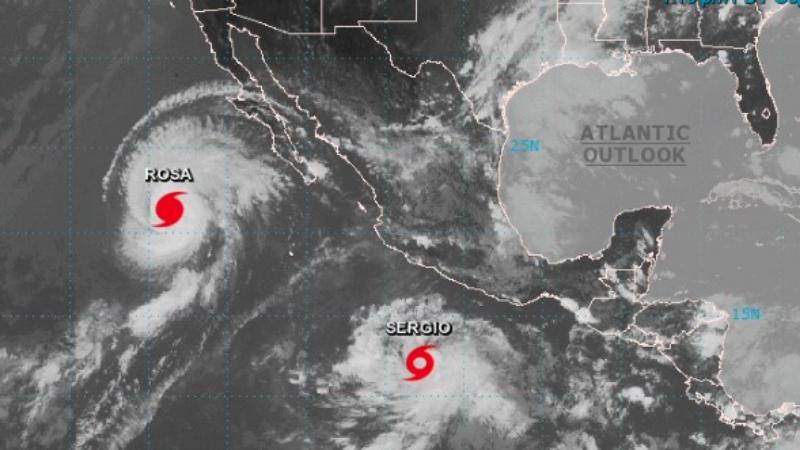 Informo La Secretaria De Proteccion Civil Que Esta Manana Comenzo A Formarse La Tormenta Tropical Sergio Al Sur Suroeste De Las Costas De Guerrero