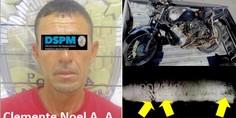 Relacionada detenido en moto robada