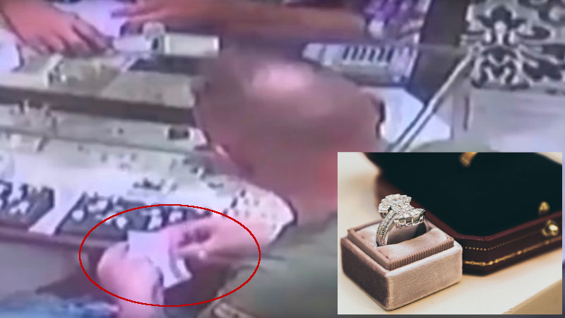 Tragó anillo de diamantes de 40 mil dólares para robarlo
