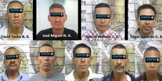 Relacionada 9 detenidos robo