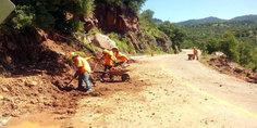 Relacionada carreteras deslave arreglos