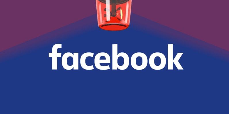 Facebook  fake clone