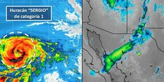 Relacionada sergio huracan lluvias viernes chihuahua norte