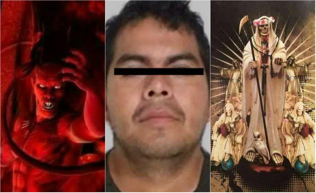 Monstruo de ecatepec satanismo santa muerte