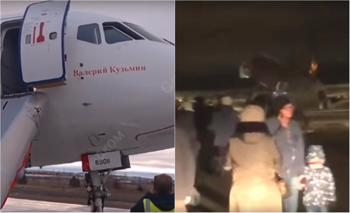 Avion ruso derrapa