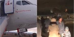 Relacionada avion ruso derrapa