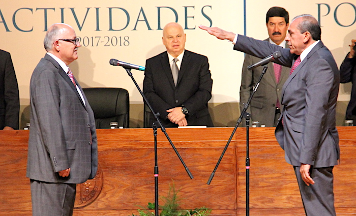 Juan ignacio camargo toma de protesta
