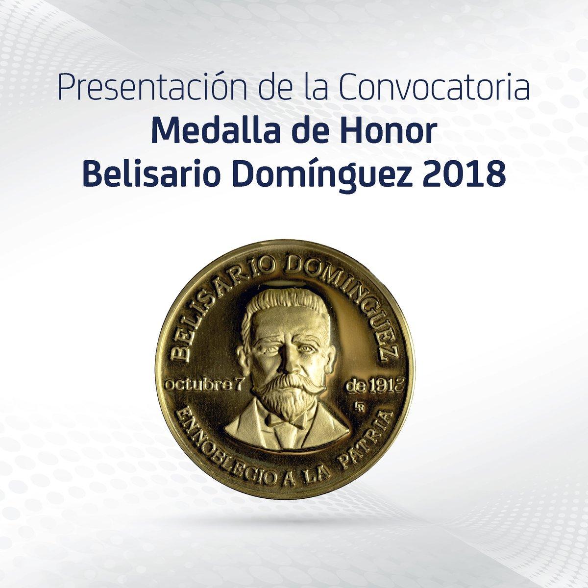 Belisario dominguez medalla