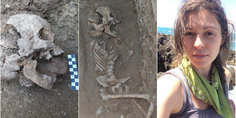 Relacionada hallazgo piedras ni o enterrado roma