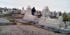 Relacionada preparativos de cementerios para el 2 de noviembre 1