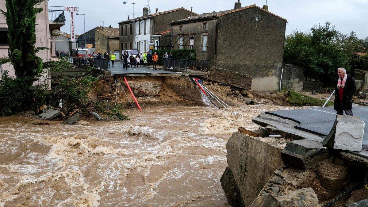 Sube a 13 la cifra de muertos por inundaciones en Francia
