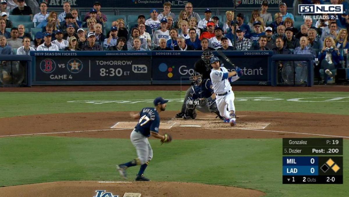 Dodgers se impone a Cerveceros e iguala la serie