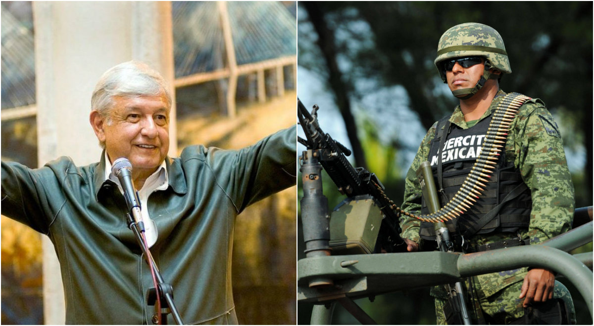 Amlo ejercito