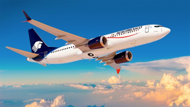 Aeroméxico reducirá flota y cancela nueve rutas por entorno negativo y pérdidas