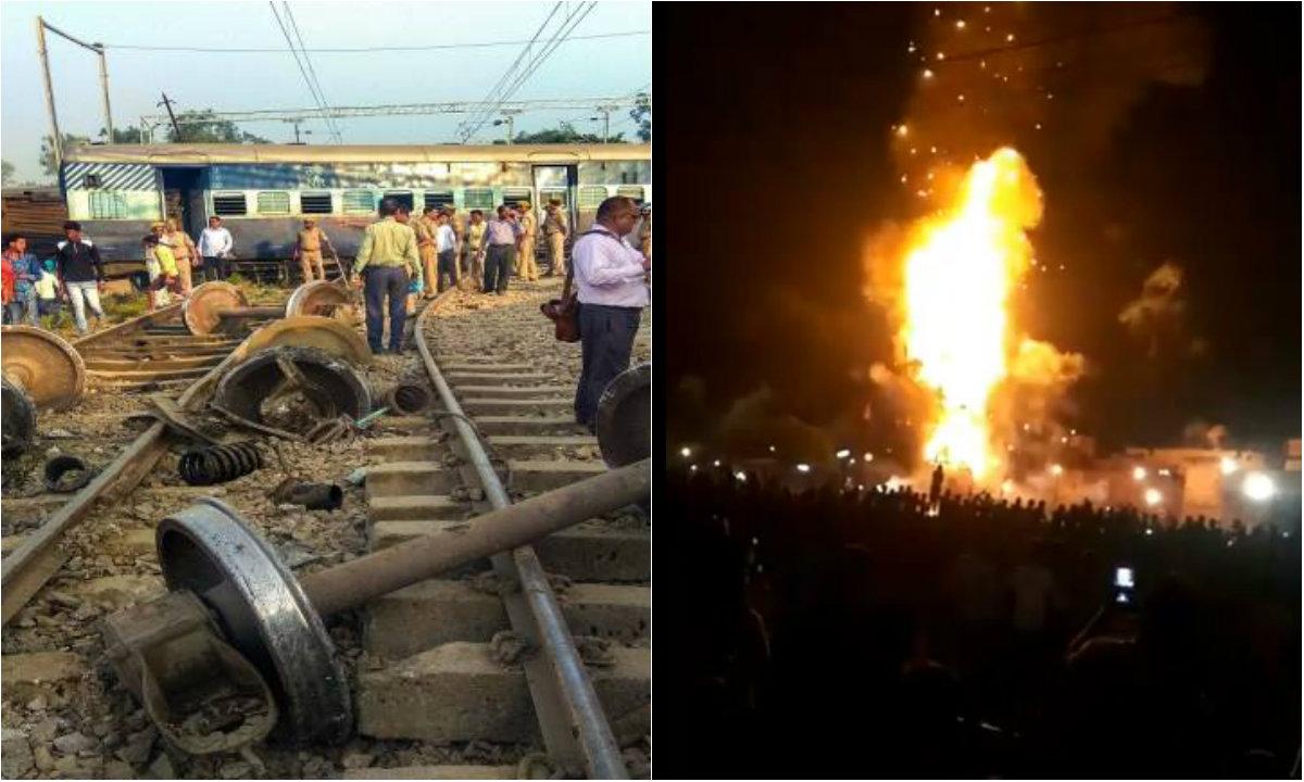 Al menos 50 muertos en un accidente ferroviario en India