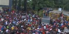 Relacionada migrantes entran a mexico