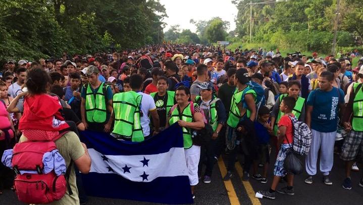 México recibe 1699 solicitudes de refugio de miembros de Caravana Migrante — Oficial