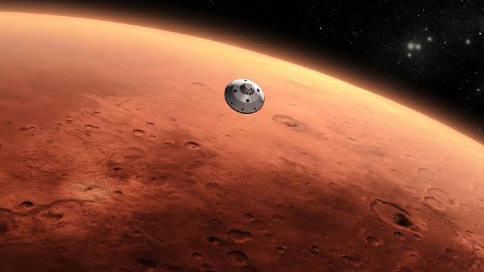 Marte acercamiento curiosity