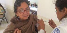 Relacionada vacuna influenza
