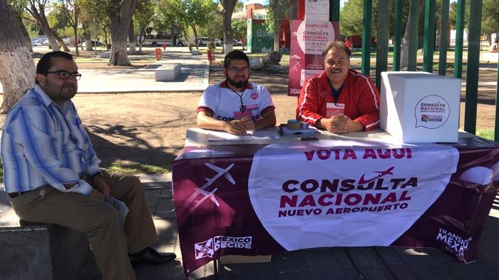 Santa Lucia obtiene mayoria de votos en Consulta Ciudadana sobre NAIM
