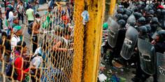 Relacionada segob niega polic as estuvieran armados en enfrentamiento con migrantes