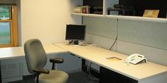 Relacionada oficina vacia