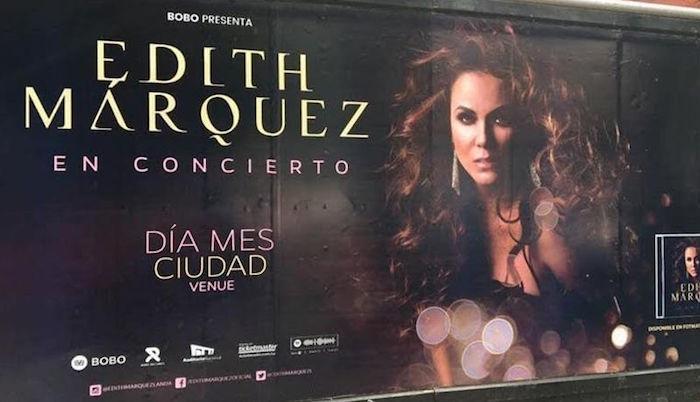 Así corrigió Edith Márquez el viral espectacular de su concierto